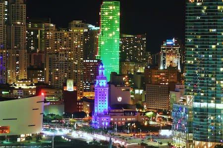 Downtown Miami and Bayshore View