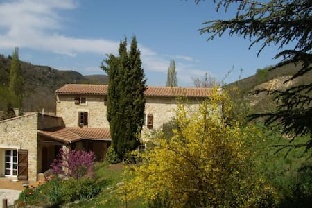 delightful farm house, big pool, romantic grounds - Roquetaillade - Ev
