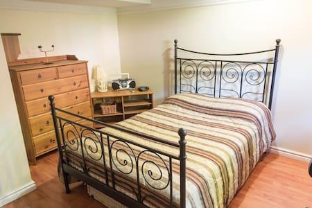 Chambre spacieuse et confortable - Dom