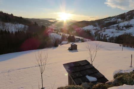 """Chalet """"Les Campanules""""  Les Hautes Vosges - Fresse-sur-Moselle - Dağ Evi"""