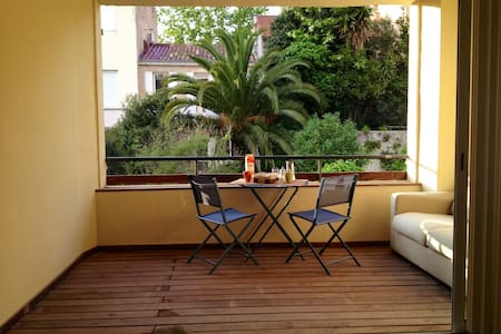 type loft 72m2 + terrasse au centre - Marseille - Apartment