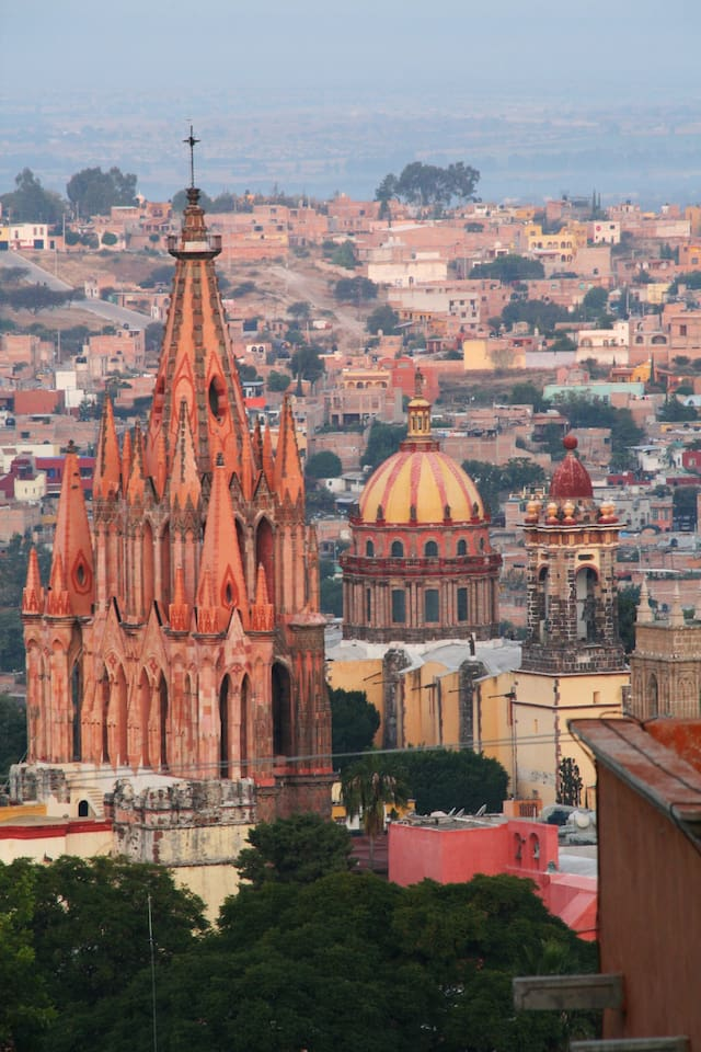 Spectacular View of the town and churches