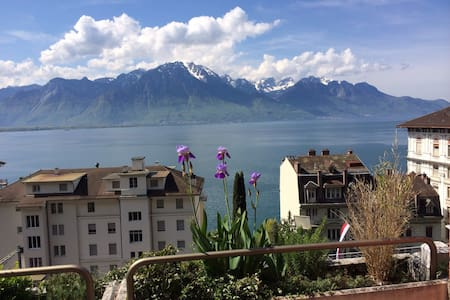 Privat flat with  lake view