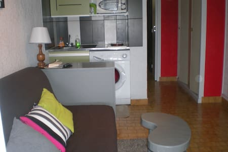 SETE CORNICHE PLAGE STUDIO 2/3 pers - Sète - Apartment