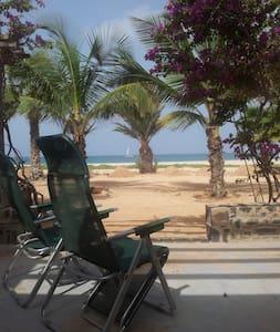 Seafront Villa Kriola on the Beach - Villa