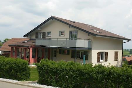 Grande Chambre indépendante 1-2p - Vuisternens-en-Ogoz - House