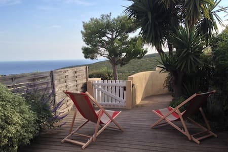 45m2 bungalow sea and hills view - Cassis - Bungalow