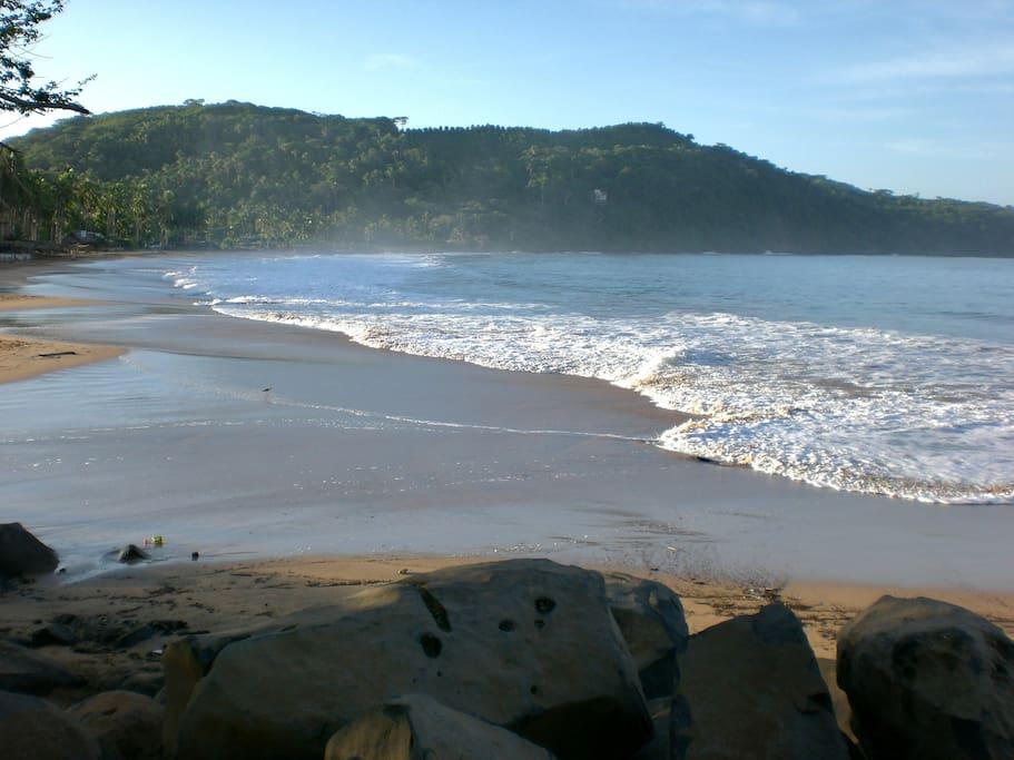 Beach is often very tranquilo