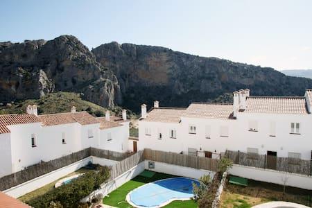 Magnifica casa con piscina privada - Montejaque