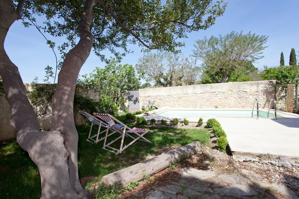 Maison de village proche d'Uzès