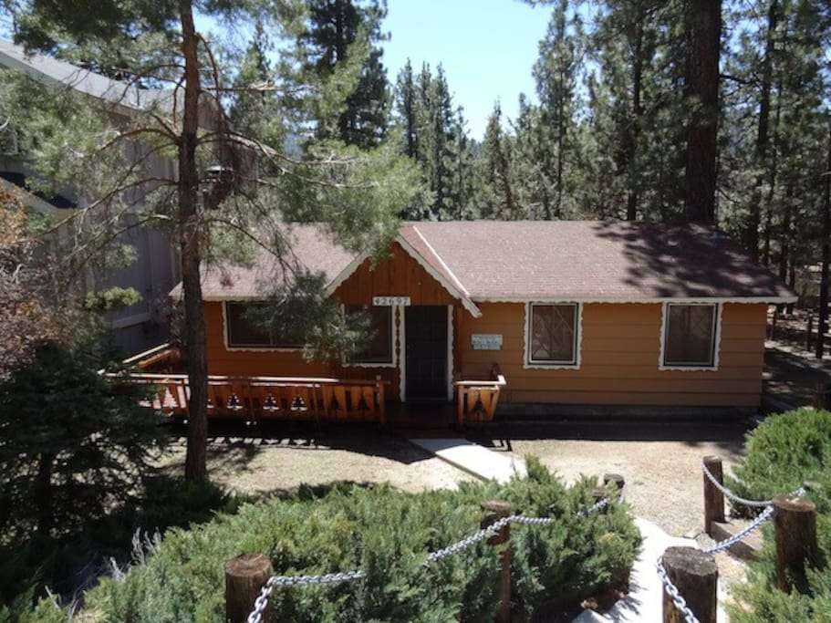 Cougar Cabin Hot Tub Houses For Rent In Big Bear Lake