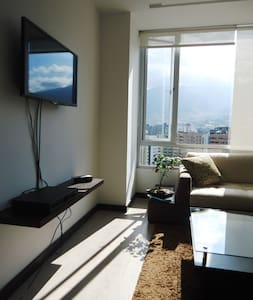 Suite with gorgeous view in Quito