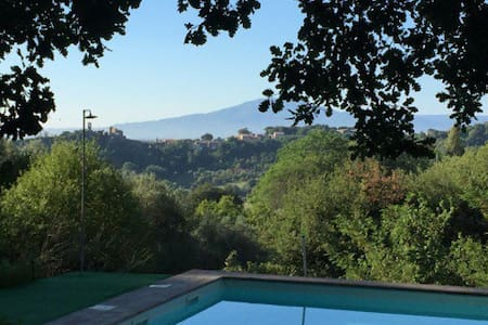 Lovely Country House with pool in Tuscia - House