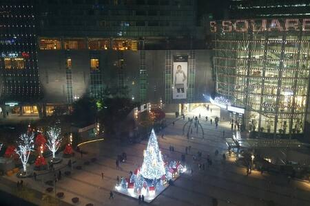 Beautiful views of Times Square mall - 서울특별시