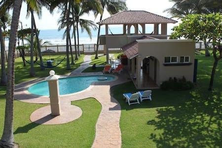 Breezy Beachfront House at Cangrejera Beach