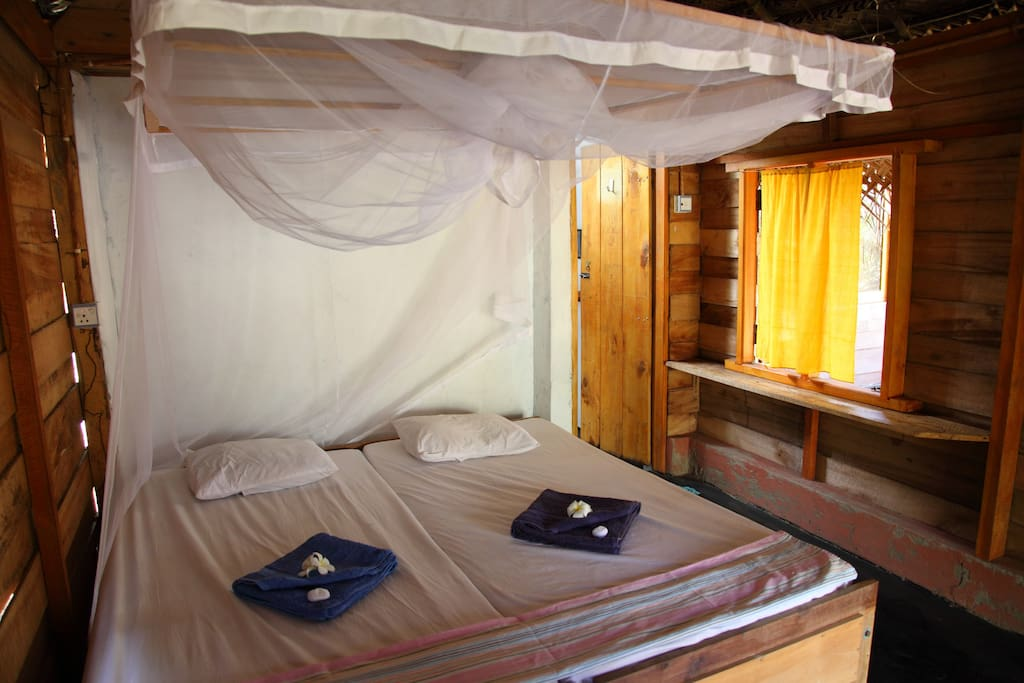 Double bed cabana