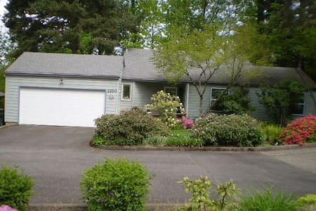 Quiet and cozy home in South Salem. - Salem - Haus