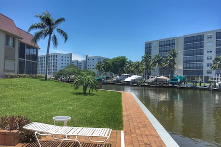 Cozy FM Beach Condo w/private pool & beach! - Fort Myers Beach - Condominium