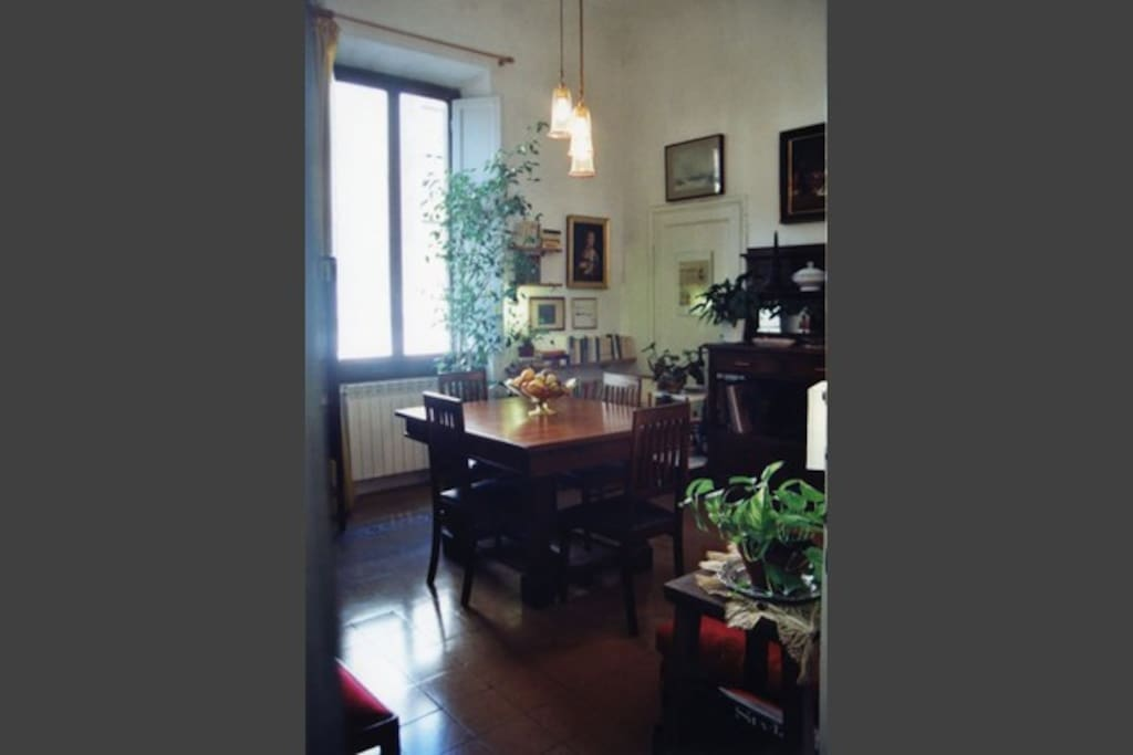 Breakfast and dinner room