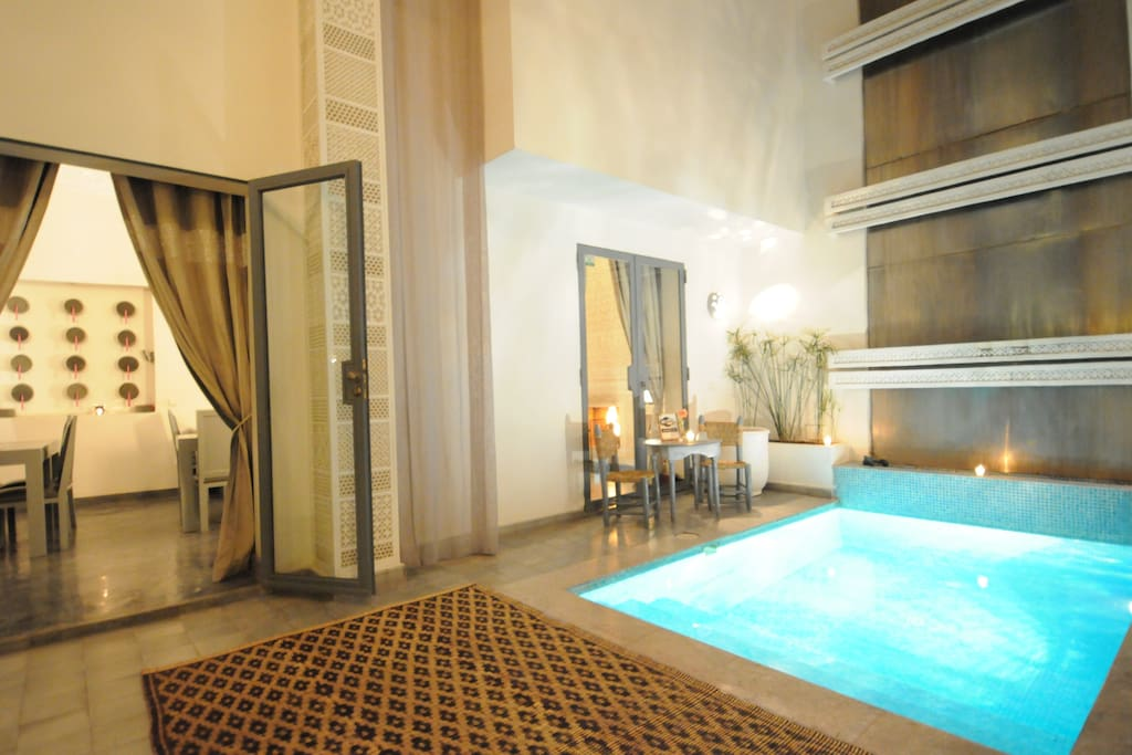 Riad in the Historical Marrakech