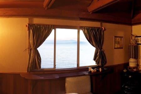 Romance Oceanside Glamping - Kunyhó