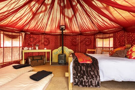 Plush Tents Glamping, Wedding Venue - West Sussex - Yurt