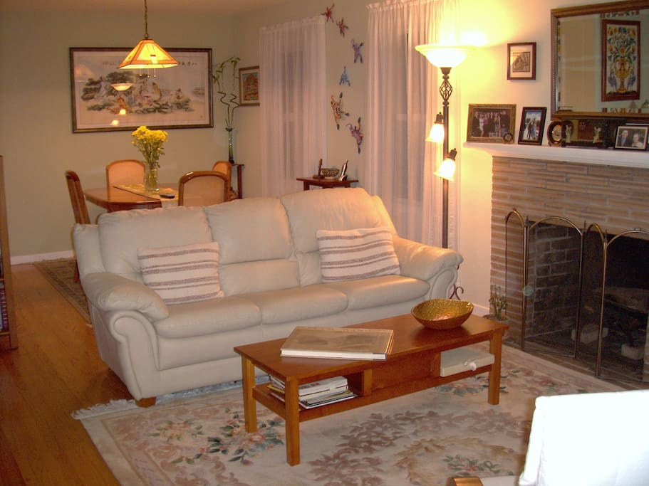 In main house there is a common living room.