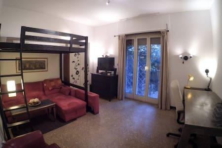 Doppia con giardino privato Viale Libia - Apartment