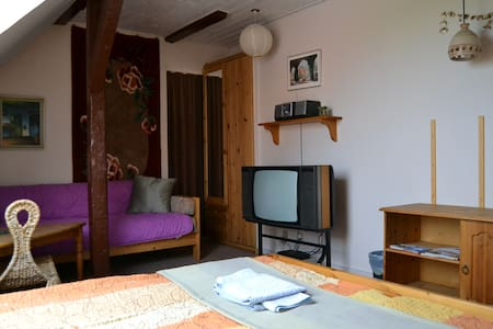 Double room nr.2 in a 3-rooms-flat w/ own entrance - Appartement