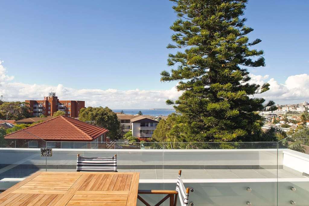 Stunning outdoor living from our beautiful terrace