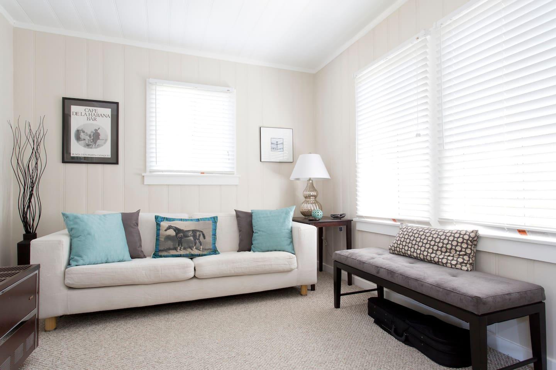 Sunny 2nd floor living room.