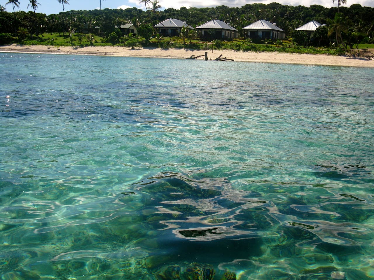 CRYSTAL CLEAR WATERS OF THE NAMUKA LAGOON