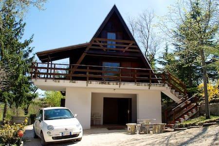 Cabin in the high hills - Montebello di Bertona - Chalet