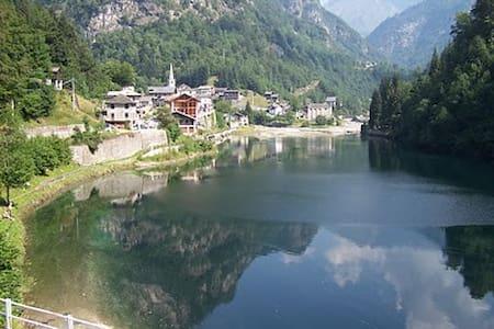 Simpatica casa al laghetto Alpino - Rimasco - Talo