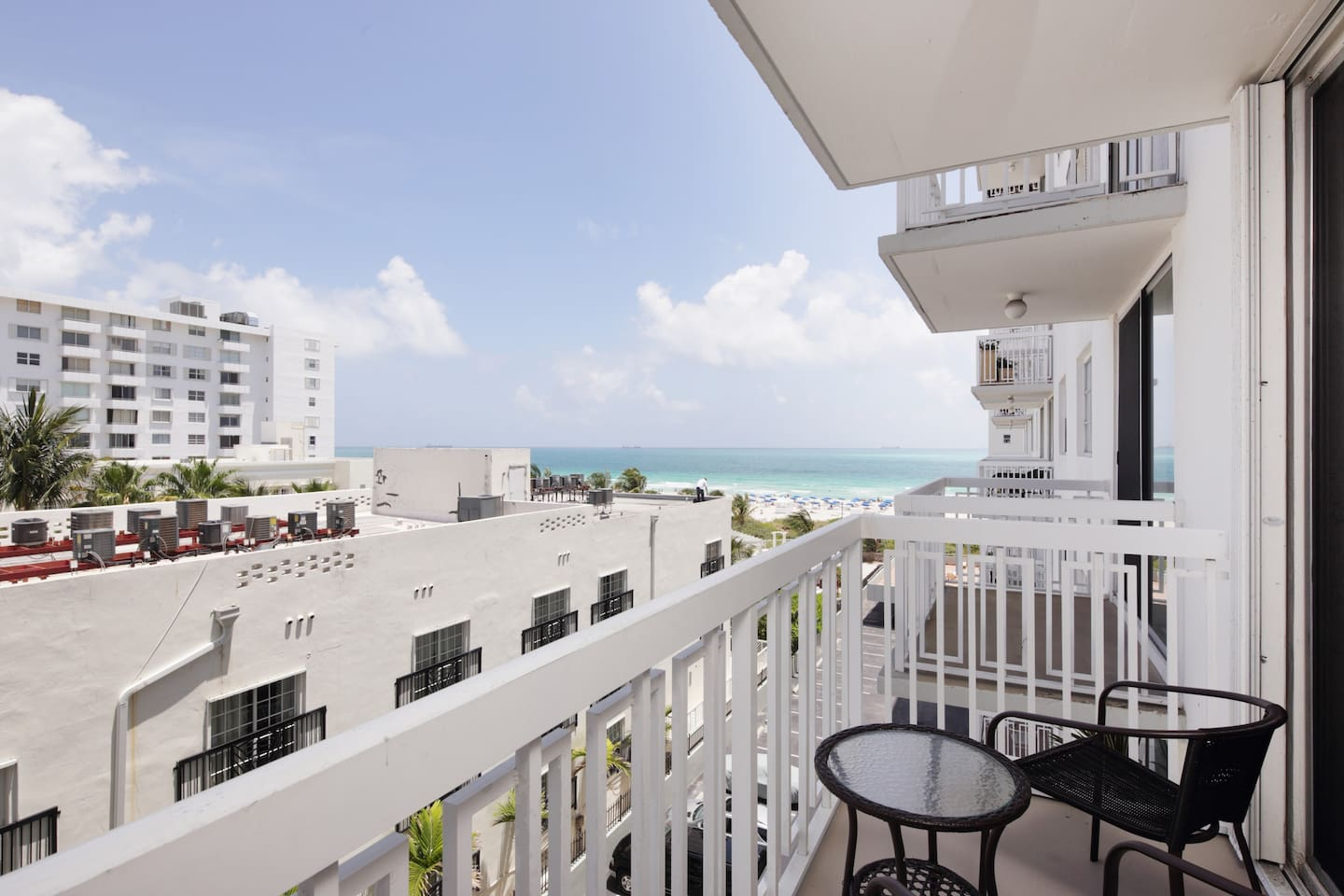 Beach Access Just A Few Steps From Your Door, Ocean Views From Your Private Balcony!