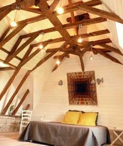 Domaine Lespoune suite Arc-en-Ciel - Bed & Breakfast