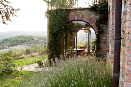 Stilvolles Haus mit Panoramablick