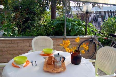 Monolocale con giardino!            - Appartamento