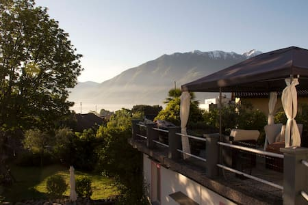 Lovely little cottage near Locarno - Haus