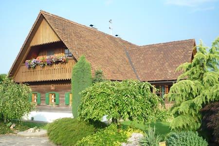 Idyllische Ferienwohnung  - Vochera an der Laßnitz - Daire