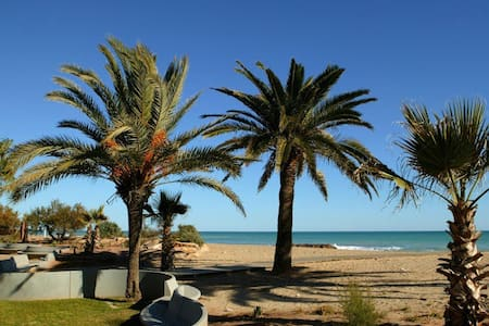 Beach apartment:WIFI-POOL-3Bedrooms-parking - Apartamento