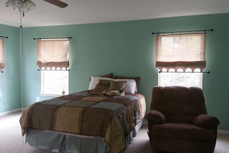 Beautiful Roomy Master Bedroom