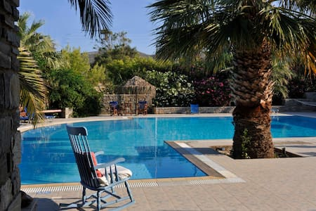 Garden view studio & swimming pool - Νάουσα - Daire
