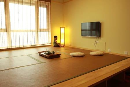 营口鲅鱼圈二室二厅一线海景日式榻榻米房 - Yingkou