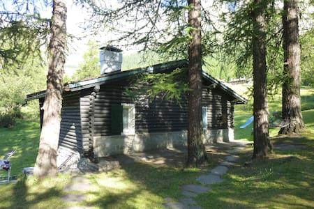 Chalet con terrazza sul Bianco - Cabin