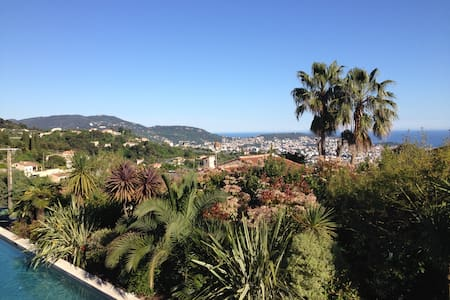 Amazing Sea View Overlooking Nice - Nizza - Villa