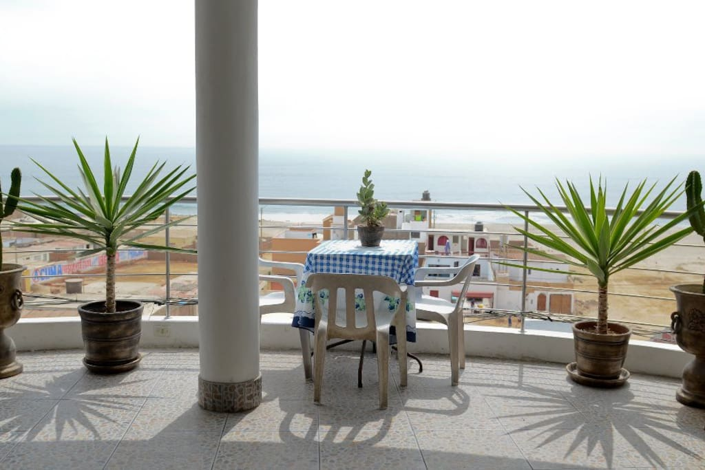 terrace with OceanView