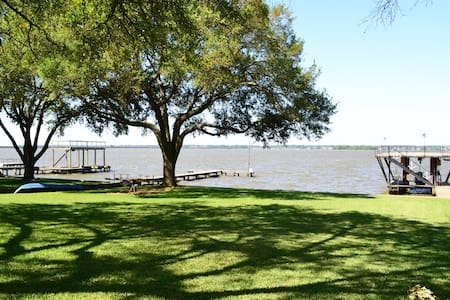 Large Lake front home - Huffman - Maison