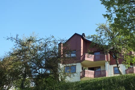 schöne Ferienwohnung am Berg  - Schwarzenbach, Bernstein am Wald