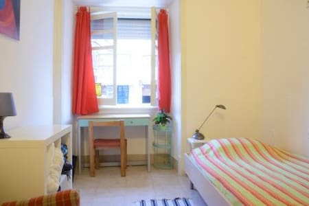 sunny double room(can be twin)1rato - Lisbon - Apartment